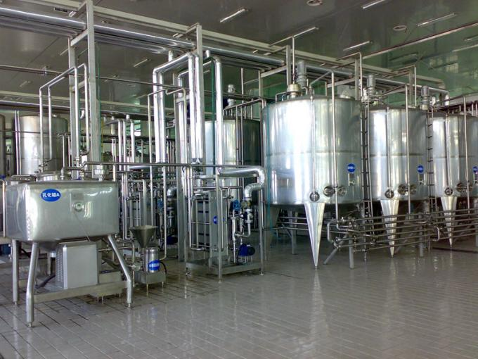 Industrial Type Yogurt Production Equipment Ce Milk