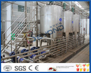 SUS304 Stainless Steel Automatic Dairy Processing Plant Milk Processing Equipment High Efficiency