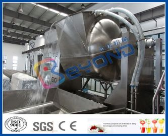 Tea / Medicine Extracting Stainless Steel Tanks With Temperature Sensor