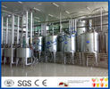 China Full Automatic Industrial Yogurt Making Machine For Dairy Plant Project 2000L - 20000LPH company