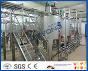 China Milk Processing Project Dairy Processing Plant With Stainless Steel Fermentation Tanks factory