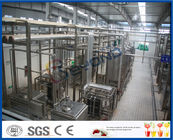 China 5000LPH UHT Milk Processing Equipments , Aspetic Bottle Packing Milk Production Line company