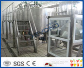 China 500L 1000L SGS Butter Making Equipment With Butter Separator Machine factory