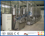 China Yogurt Processing Plant Yogurt Processing Equipment 5 - 200 TPD Full Automatic Industrial Type factory