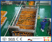 China 10TPH Automatic Orange Juice Extract Orange Processing Line For Juice Making Factory company