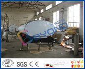 China SUS316L Horizontal Milk Transport Tank With Insulation Layer 1000L-8000L Capacity company