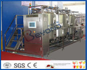 China 10 m³/H Flow Rate 1000L CIP Cleaning System For Milk Processing Plant ISO 9001 / SGS / CE factory