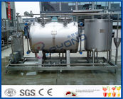 China 10tph Split Type Semi Auto CIP Cleaning System With SUS304 SS316 Material company