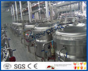 China 12TPH Soft Drink Production Process Soft Drink Production Line With Soft Drink Filling Machine factory