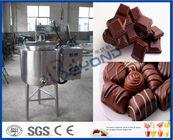 China ISO 200L 300L Stainless Steel Tanks For Chocolate Melting With Lifting Hugs factory