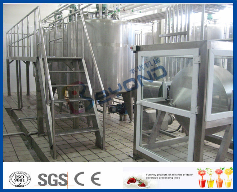 500L 1000L SGS Butter Making Equipment With Butter Separator Machine