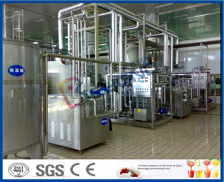 Full Automatic Milk Production Plant Milk Processing