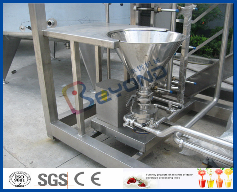 Skid Mounted 1000l H Dairy Products Machinery Milk