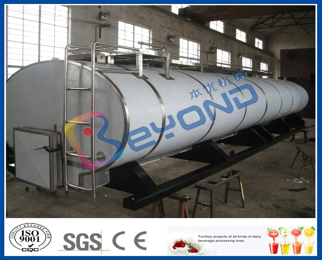Milk Storage Stainless Steel Dairy Tanks With -20℃ ~ +40℃ Temperature Range
