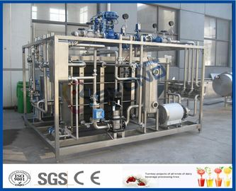 Plc Touch Screen Milk Pasteurization Equipment With Plate Heat Exchanger