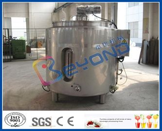 Chocolate Melting Stainless Steel Tanks / Electric Heating Tank With 100L - 2000L Volume