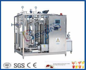 SUS304 Plate Milk Processing Equipment , PID Control Milk Pasteuriser Machine