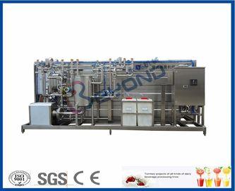 Hot Filling Sterilizer Milk Pasteurization Equipment Automatic / Semi Auto Control