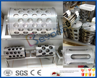 Stainless Steel Dairy Processing Equipment , Mozzarella Cheese Making Machine