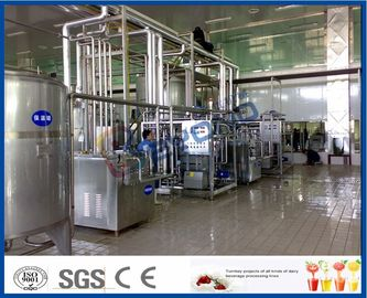 2000L/h Dairy Processing Plant with homogenizer and pasteurizer 3000-4000bottles/h with iso certificate