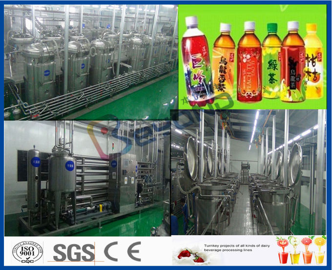 Full Automatic Soft Drink Production Line For Energy Drink