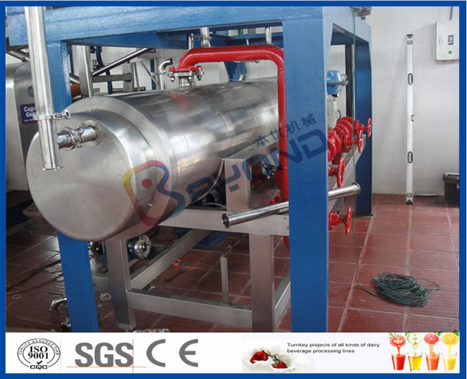Fresh Pineapple Mango Juice Processing Plant With Can